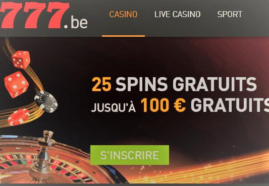 Jeux gratuit comme au casino belge 777